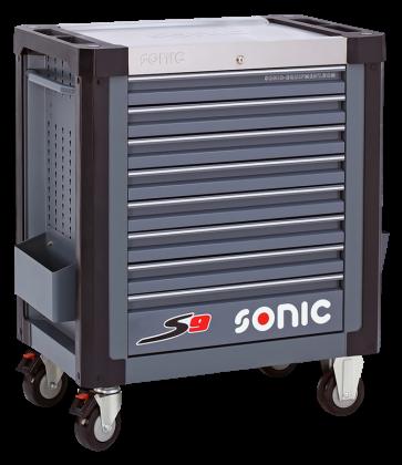Dulap scule SONIC S8 echipat cu 241 piese, 8 sertare [1]