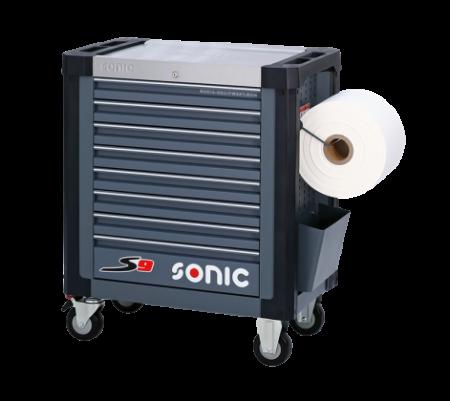 Dulap scule SONIC S8 echipat cu 241 piese, 8 sertare [2]
