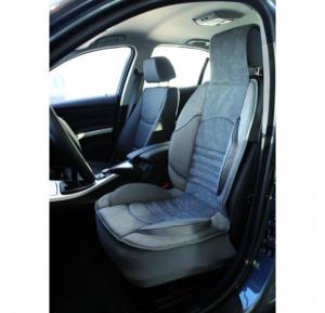 Husa scaun auto confort ridicat (poliester, compatibila cu airbag, tetiera integrata, burete cu memorie, 112x51) [1]
