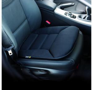Perna scaun Grand Comfort (poliester, pentru  masina, spuma de memorie, sistem fixare scaun, 44x46x8 cm) [1]