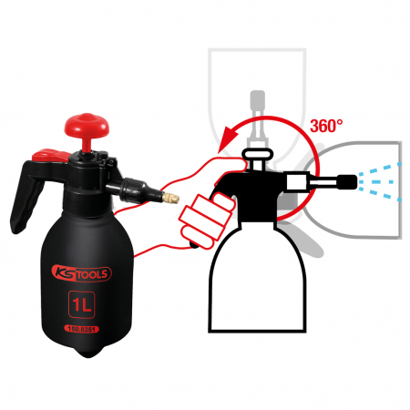 Pulverizator cu pompa de presiune 1 l [4]