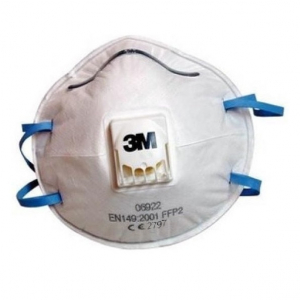 Masca P2 supapa expiratie pachet de 10 bucati 3M [1]