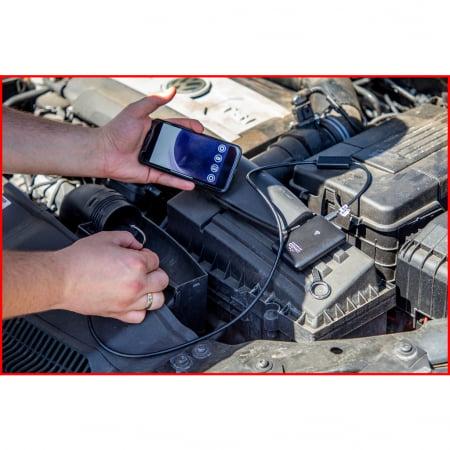 Set videoscop wi fi cu diametru 60 mm 0 grade sonda camera hd 90 grade reversibil 4 piese8