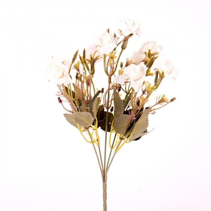 flori artificiale, mini rosa, trandafir artificial