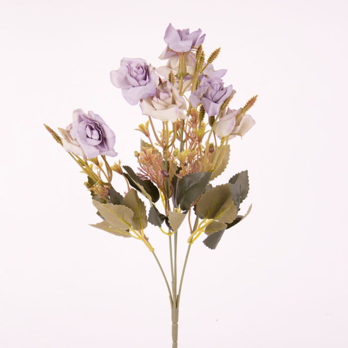 flori artificiale, mini rosa, trandafir artificial 0