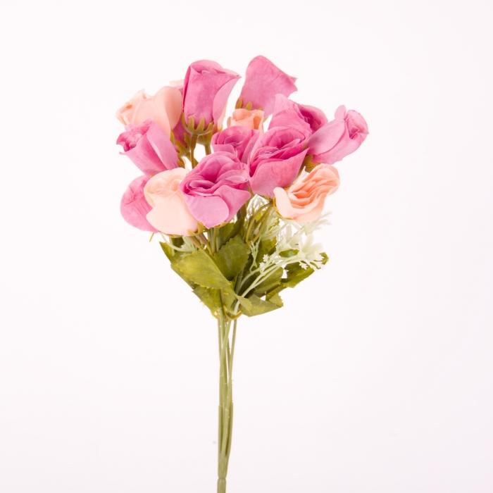 buchet trandafir, trandafir artificial, flori artificiale 0