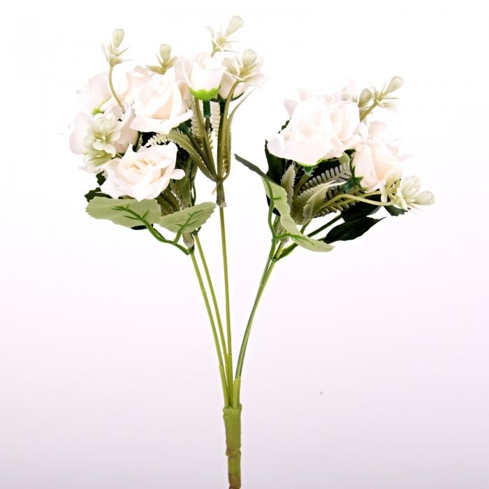 flori artificiale, mini rosa, trandafiri artificiali