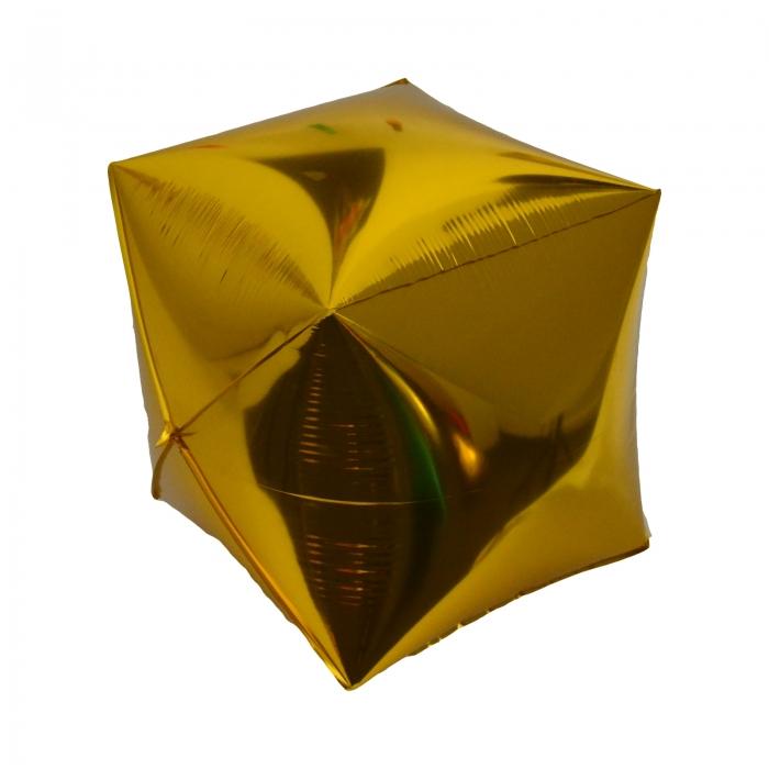 BALON 3D FOLIE ARGINTIU 60 CM 1