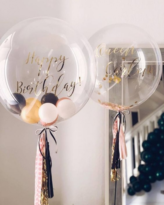 BALON BOBO TRANSPARENT 45 CM 2