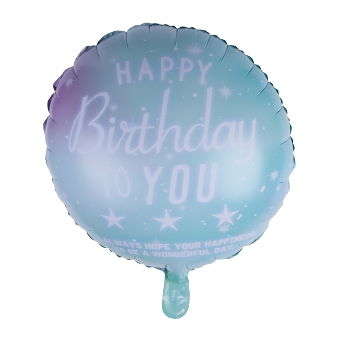 BALON FOLIE HAPPY BIRTHDAY VERNIL 45 CM 0