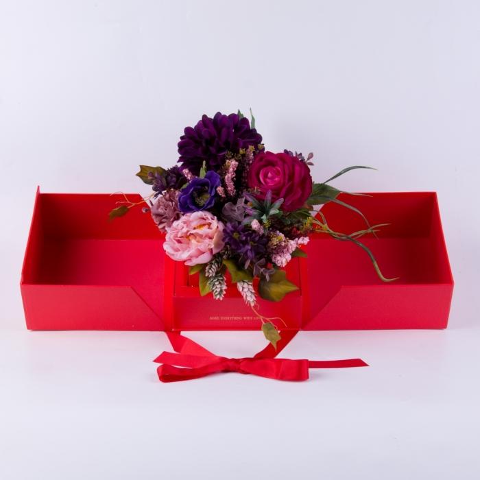 Cutie roșie Ambra