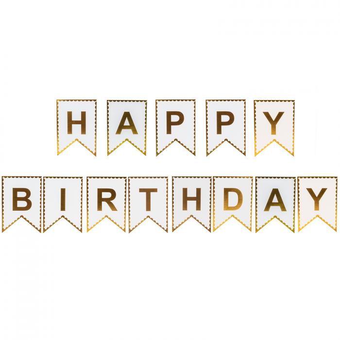 GHIRLANDA HAPPY BIRTHDAY GOLDIE [0]