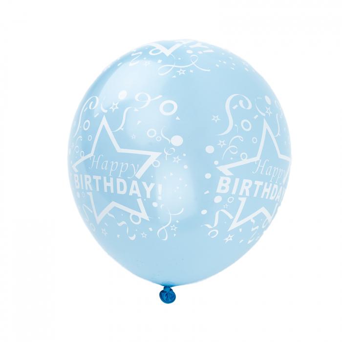 SET 100 BALOANE ''HAPPY BIRTHDAY'' 30 CM [0]