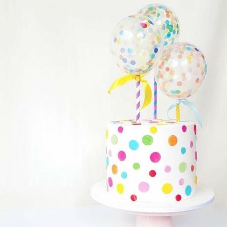 BALON  CAKE TOPPER 33 CM1