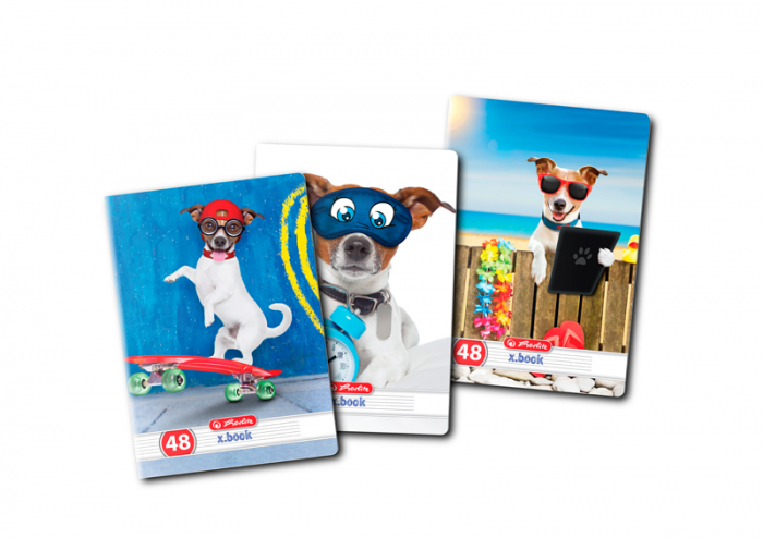 Caiet format A5, 48 file dictando cool dog [0]