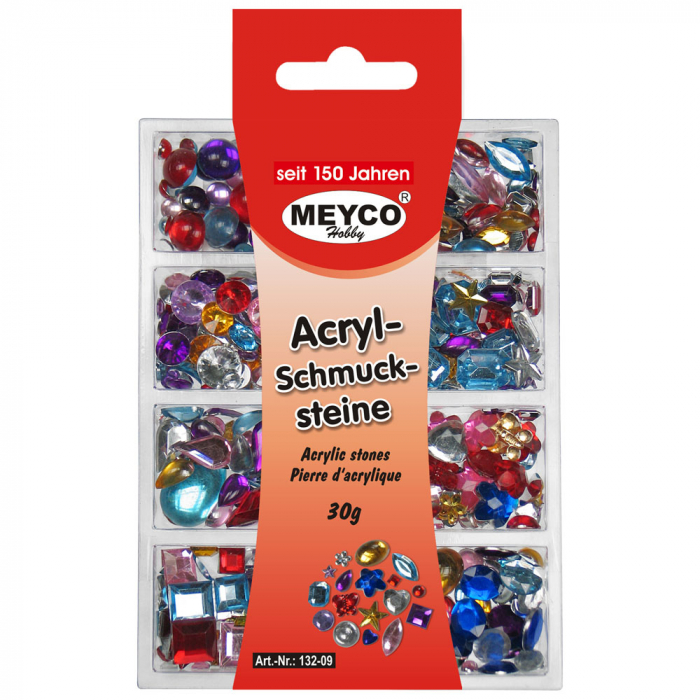 Mix semisfere colorate, 6-18mm, 30 gr, 600 buc [2]