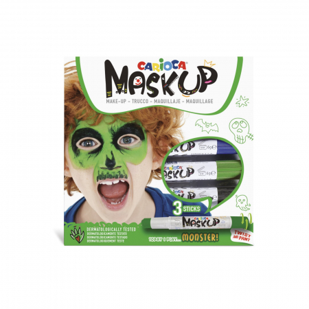Set pictura pe fata si corp, face painting, Mask-Up Monster [0]