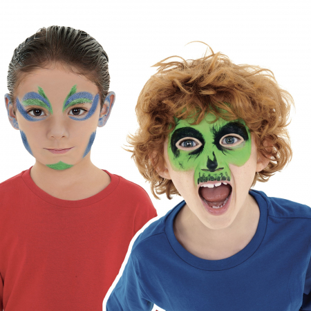 Set pictura pe fata si corp, face painting, Mask-Up Monster [1]