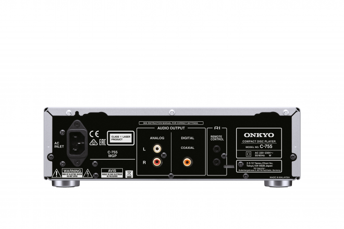 CD Player Onkyo C-755 1