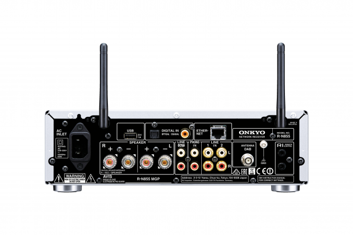 Receiver stereo Onkyo R-N855 1