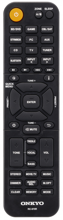 Receiver stereo Onkyo TX-SR393 4