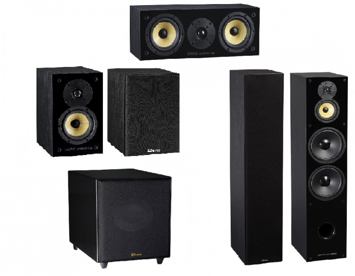 Pachet Boxe Davis Acoustics Balthus 90 + Boxe Davis Acoustics Balthus 30 + Boxa Davis Acoustics Balthus 10 + Subwoofer Davis Acoustics Basson 77 0