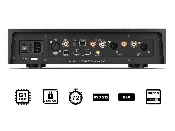 Streamer DAC Auralic Vega G2 2