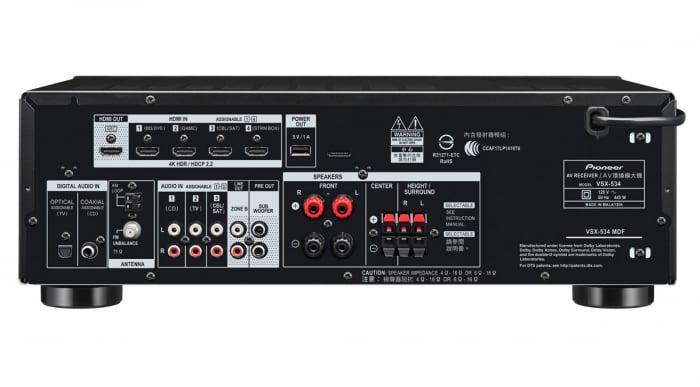 Receiver Pioneer VSX-534 3
