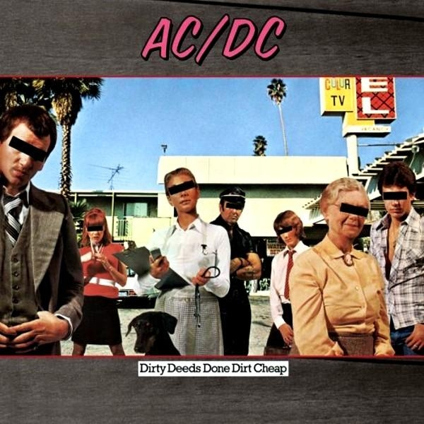 Vinil AC/DC-Dirty Deeds Done Dirt Cheap (180g Audiophile Pressing)-LP 0