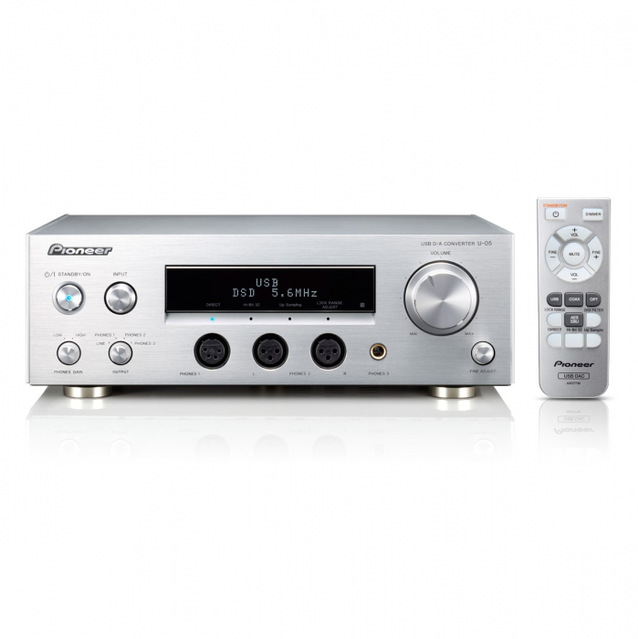 Amplificator casti si DAC Pioneer U-05-S 0