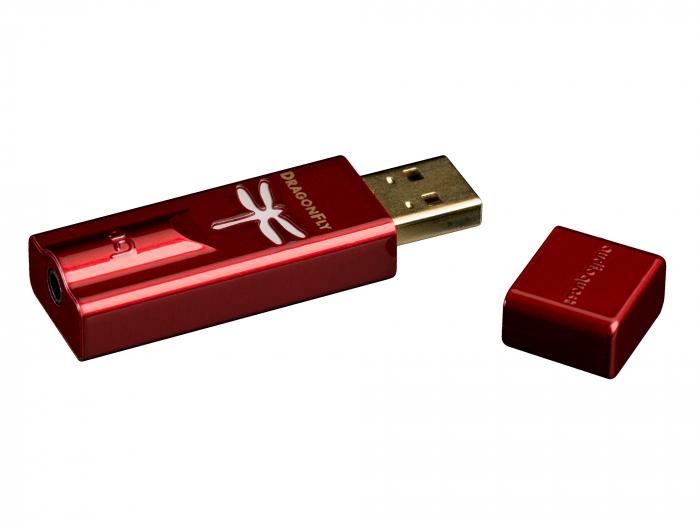 Amplificator de casti si DAC AudioQuest DragonFly Red 0