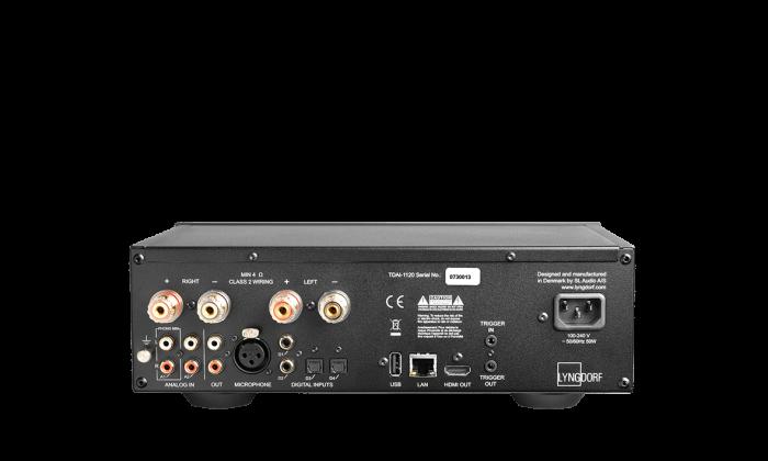 Amplificator Lyngdorf TDAI-1120, 2x120W, solutie all-in-one cu HDMI si streaming [1]