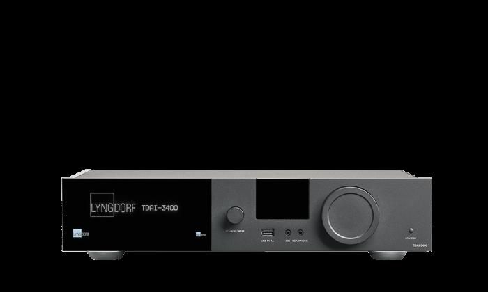 Amplificator Lyngdorf TDAI-3400 2x200W, streaming Wi-Fi, Tidal Connect, Roon ready, decodare MQA, USB [0]
