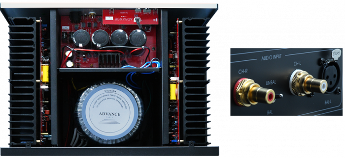 Amplificator putere Advance Acoustic X-A160 2