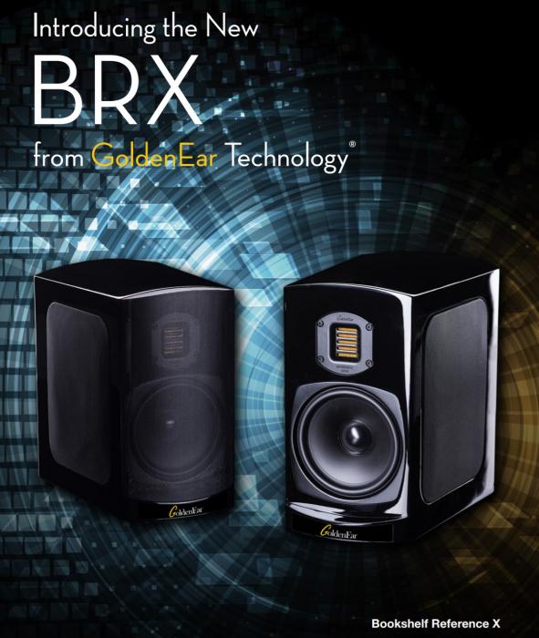 Boxe de raft High-End GoldenEar  BRX (Bookshelf Reference X), 40Hz-35kHz, eficienta 90dB 1