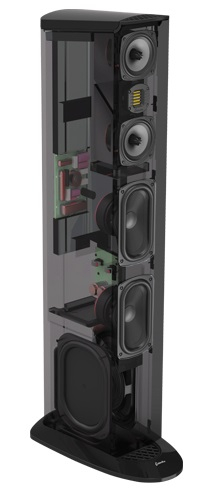 Boxe podea GoldenEar TRITON TWO+ cu subwoofer activ incorporat, 16Hz - 35kHz, 91dB 1