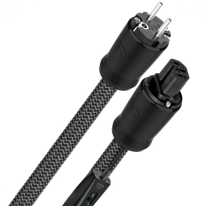 Cablu alimentare Audioquest BLIZZARD XTRM C13, DBS Black 0