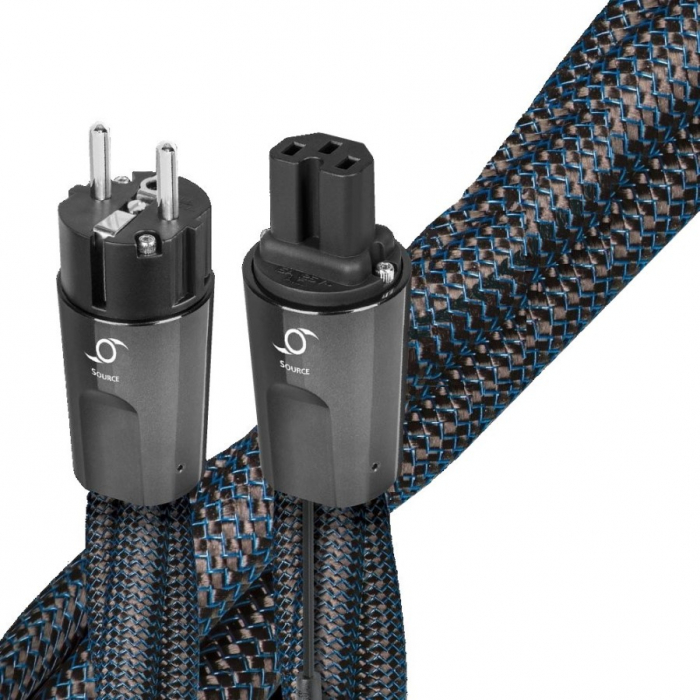 Cablu alimentare Audioquest HURRICANE Source C15, DBS Carbon [0]