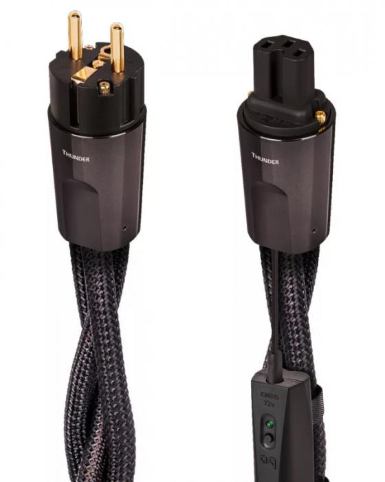 Cablu alimentare Audioquest THUNDER C15 High Current, DBS Black [0]