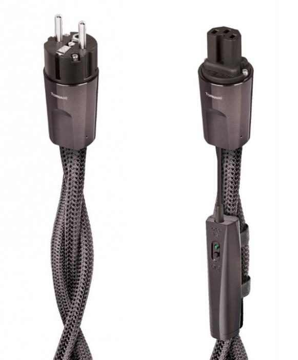 Cablu alimentare Audioquest TORNADO C15 High Current, DBS Carbon 0