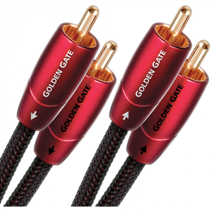 Cablu audio 2RCA - 2RCA AudioQuest Golden Gate 0