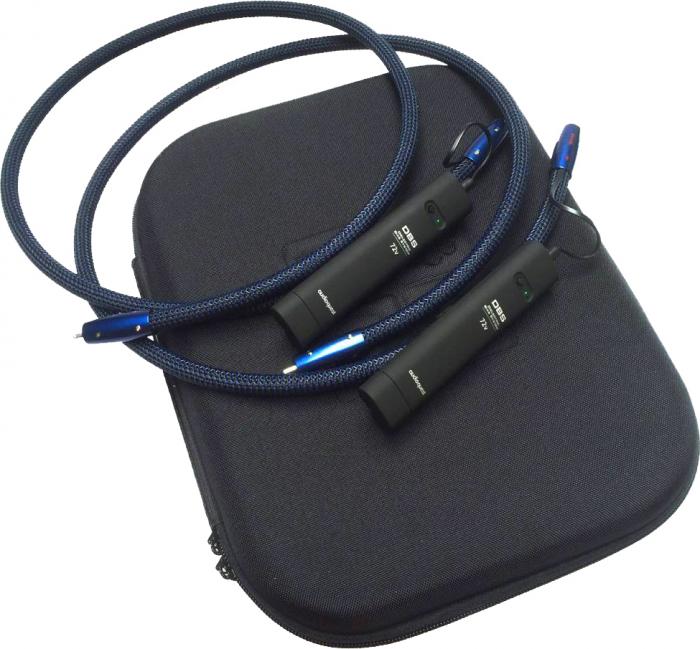 Cablu audio 2RCA - 2RCA AudioQuest Water, DBS 72V inclus 2