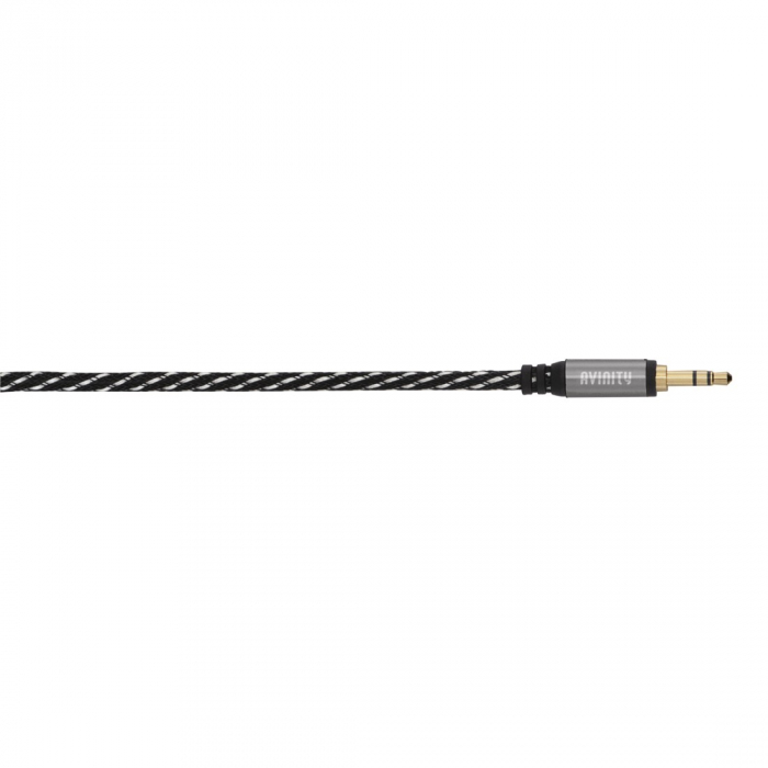 Cablu audio Avinity jack stereo 3.5 mm jack tata/tata, conectori auriti [0]