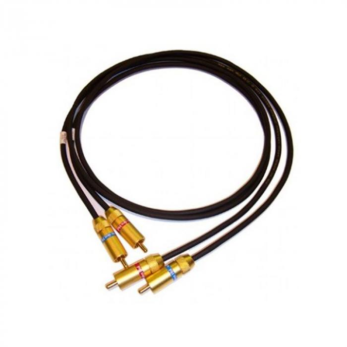 Cablu audio Van den Hul D - 501 Hybrid RCA - RCA 0