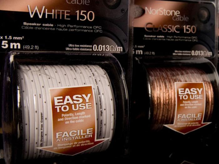 Cablu boxe la metru Norstone Classic 150 1