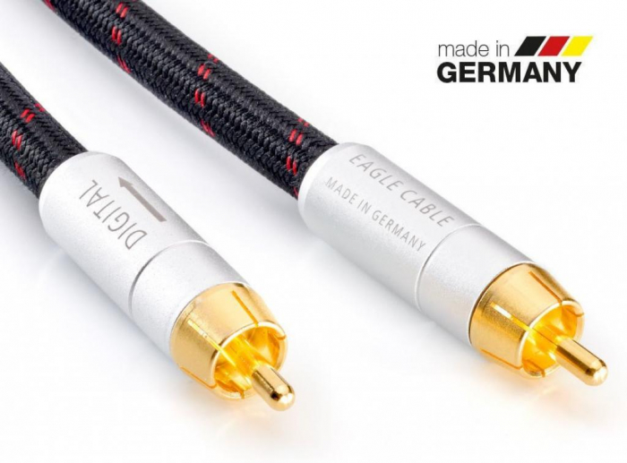 Cablu Coaxial Digital Eagle High End Deluxe 0