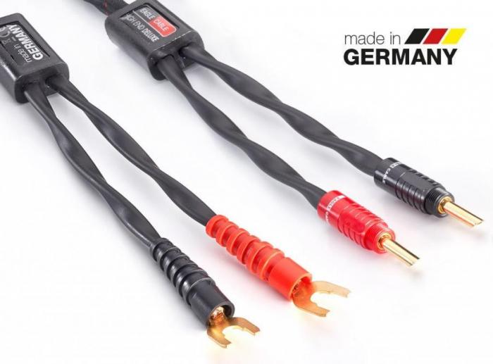 Cablu de Boxe Eagle High End Deluxe cu Banana BFA SW 3m 1