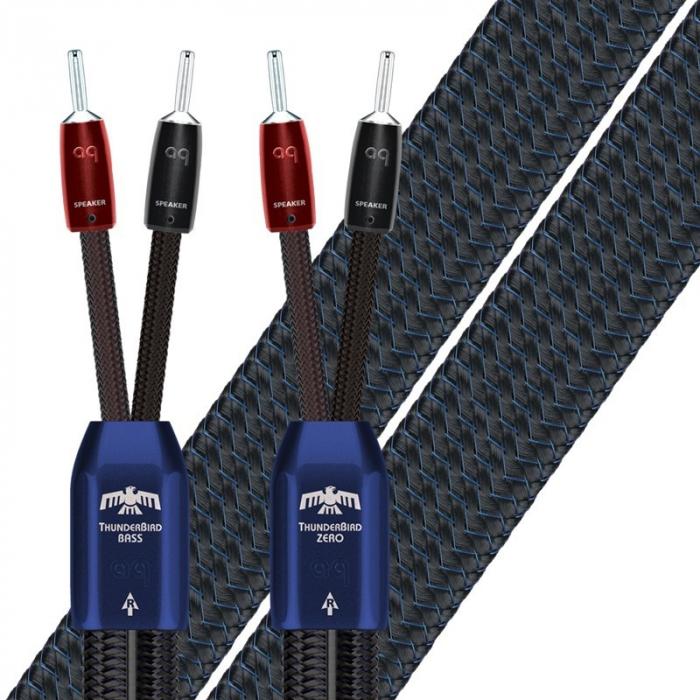 Cablu de boxe High-End Audioquest Thunderbird ZERO (DBS Carbon) [0]