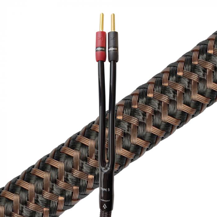 Cablu de boxe High-End cu mufe banana Audioquest StarQuad Type 5 [0]
