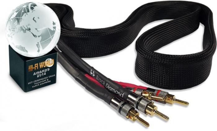 Cablu de Boxe Tellurium Q Black Diamond 0